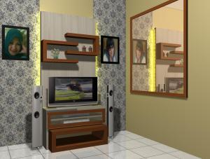 contoh desain project interior apartemen menteng square